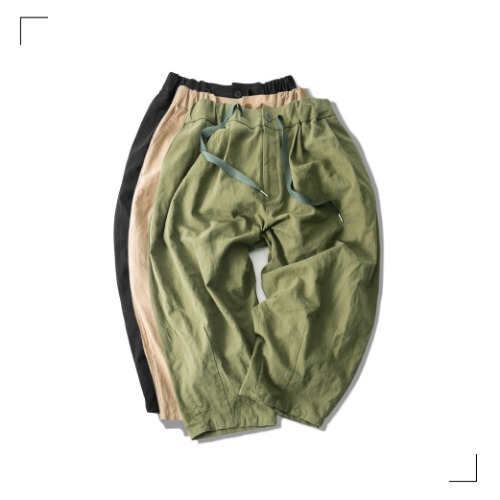 Linen Balloon Pants - 3color [ Last 3 pcs ]