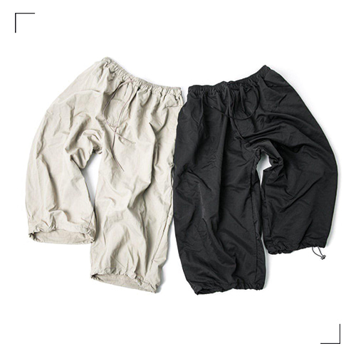 String Balloon Pants - 2color