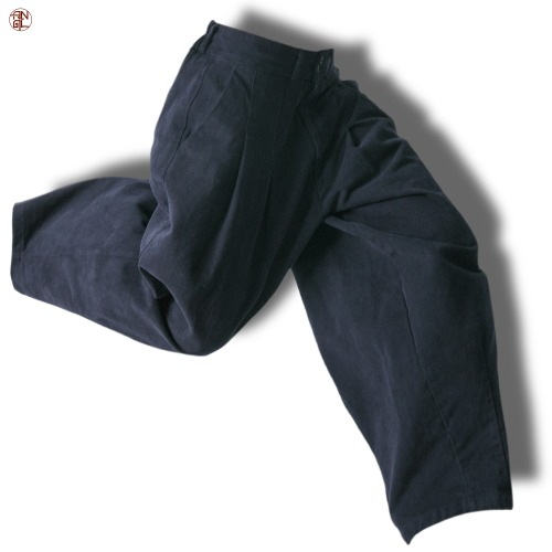 EASY BALLOON PANTS - Navy