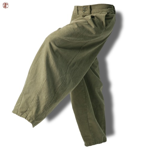 EASY BALLOON PANTS - Khaki