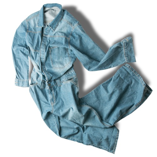 Washing Denim Coverall