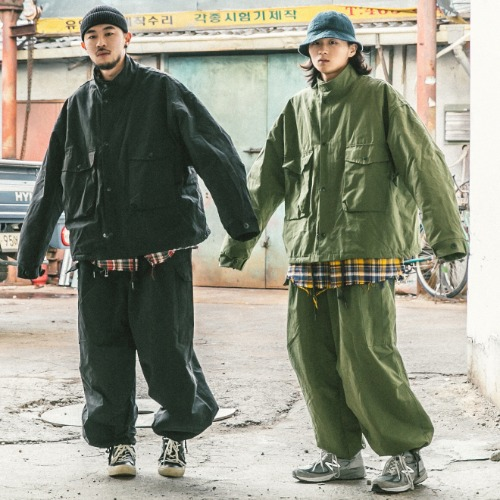 Cargo Field Jacket & Cargo Balloon Pants