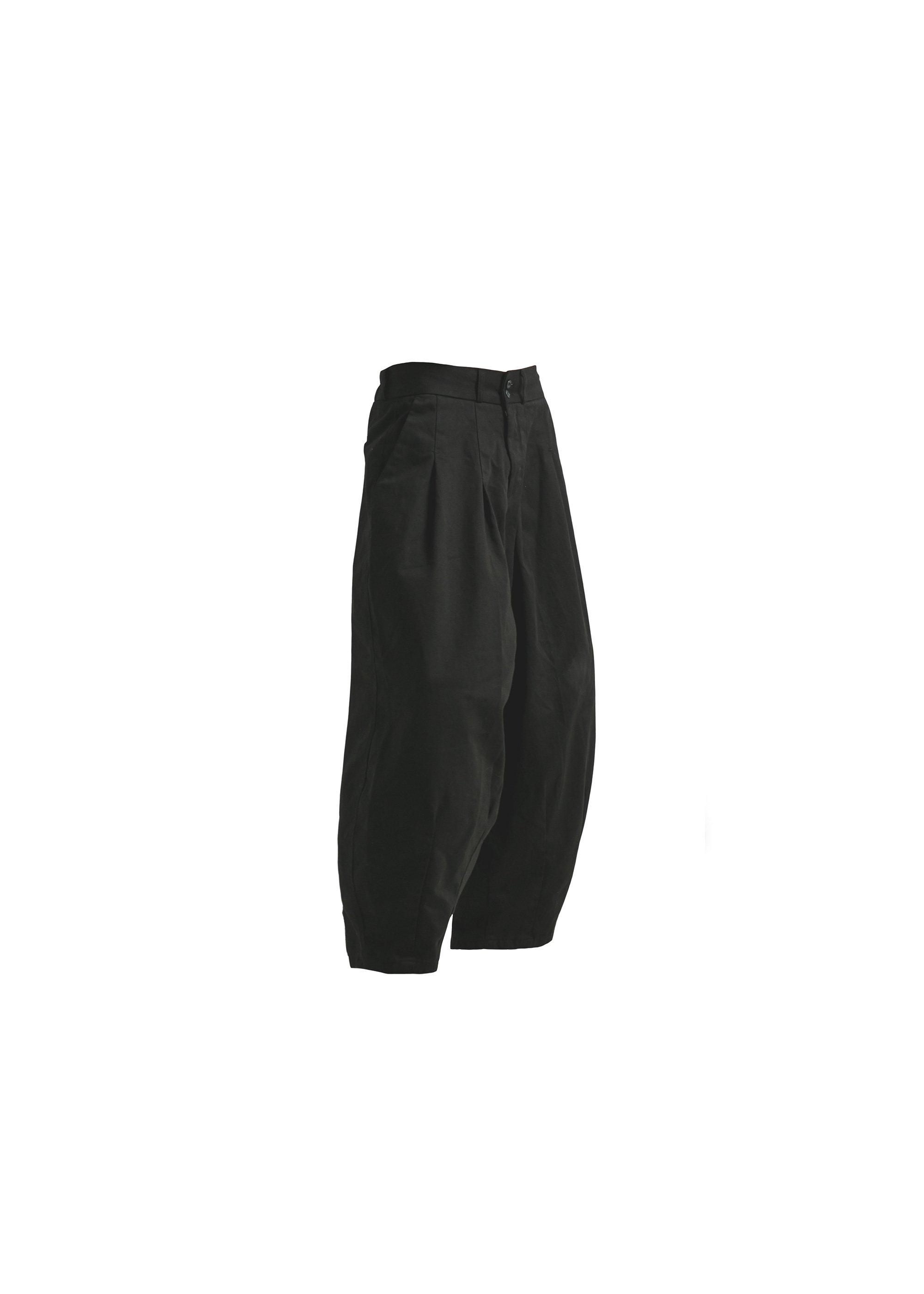 [AG] Cotton Easy Balloon Pants - Black