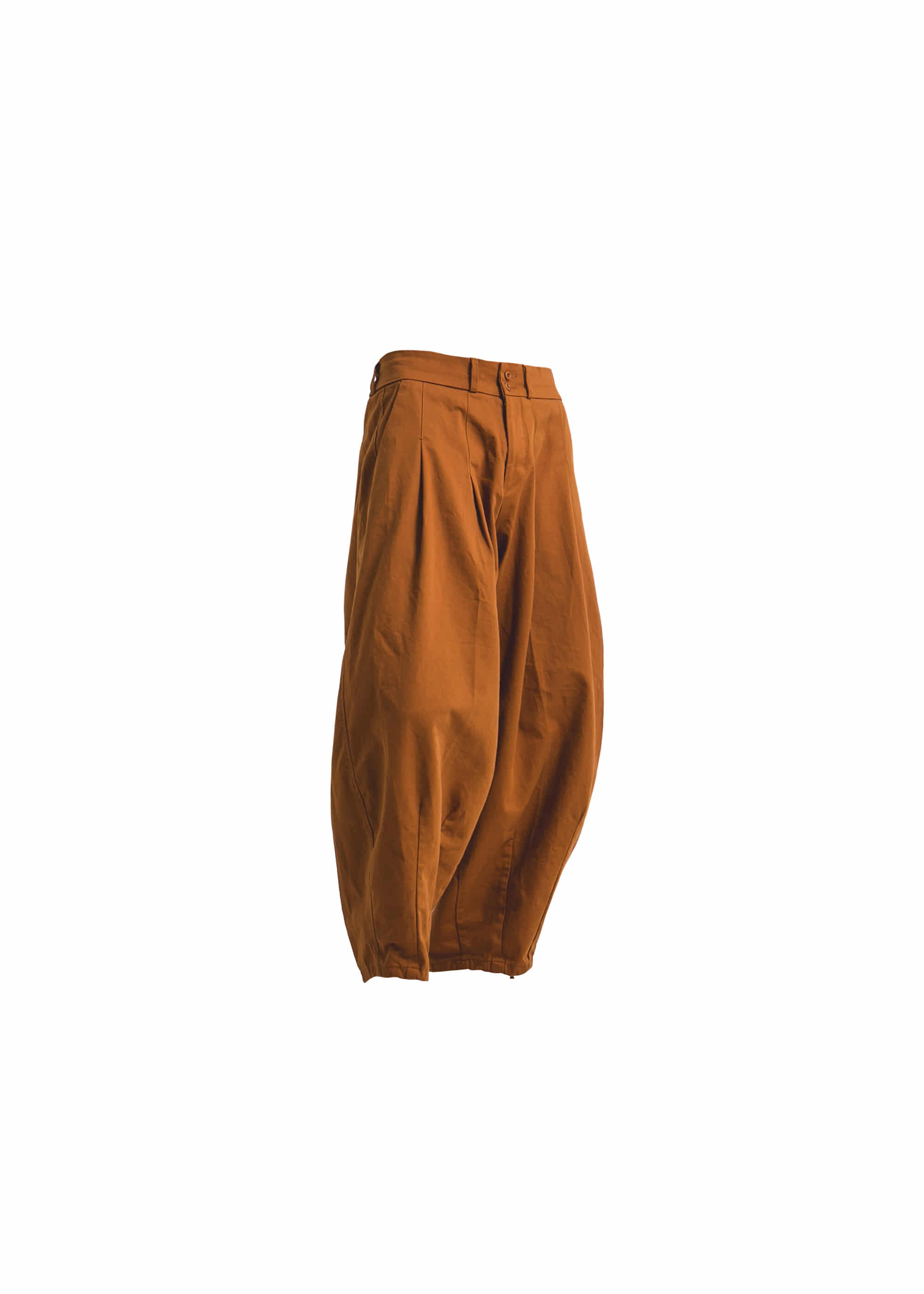 [AG] Cotton Easy Balloon Pants -Brick [Pre-Order]