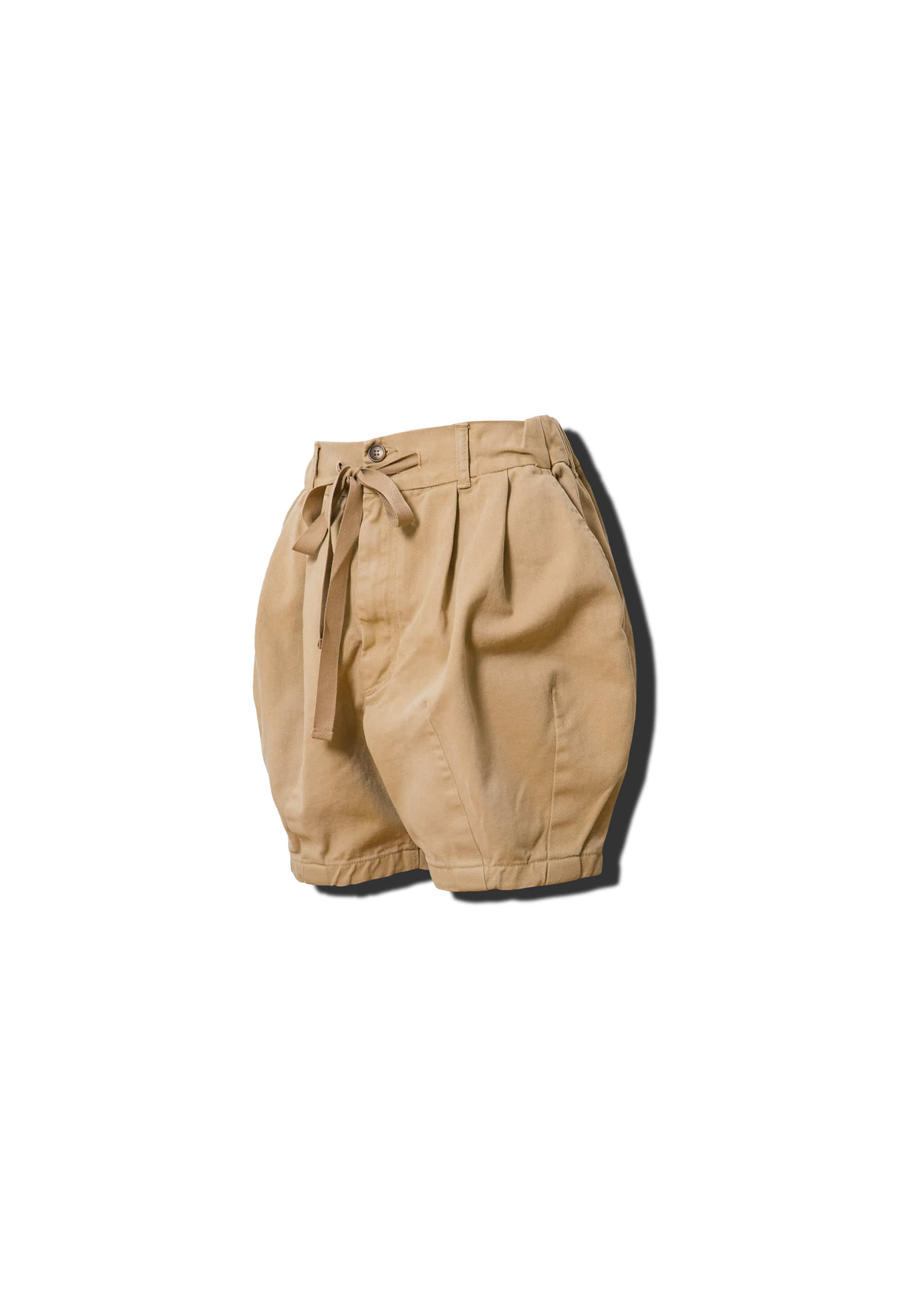 [RE] [AG] Cotton Easy Balloon Shorts - Beige
