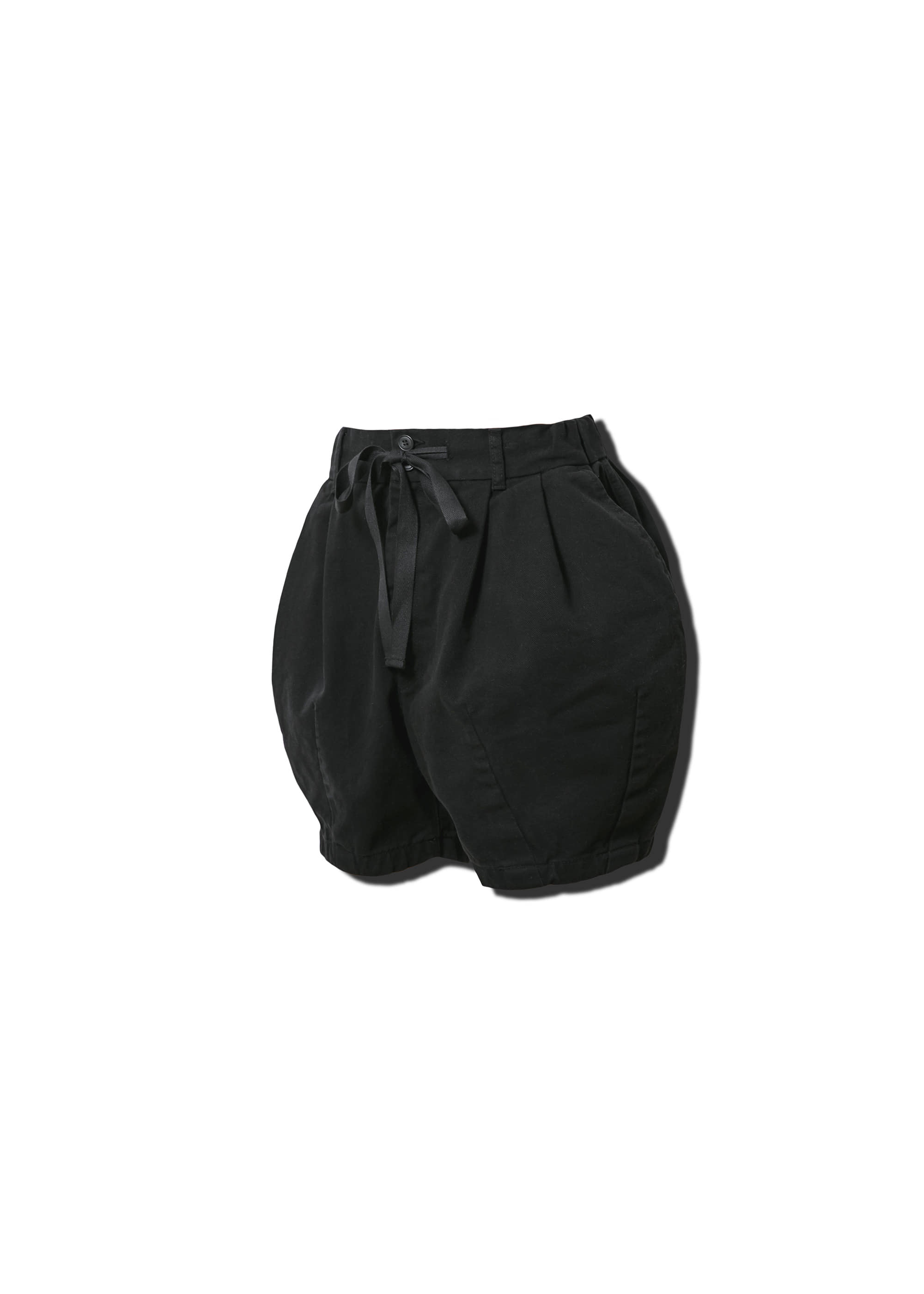 [AG] Cotton Easy Balloon Shorts - Black