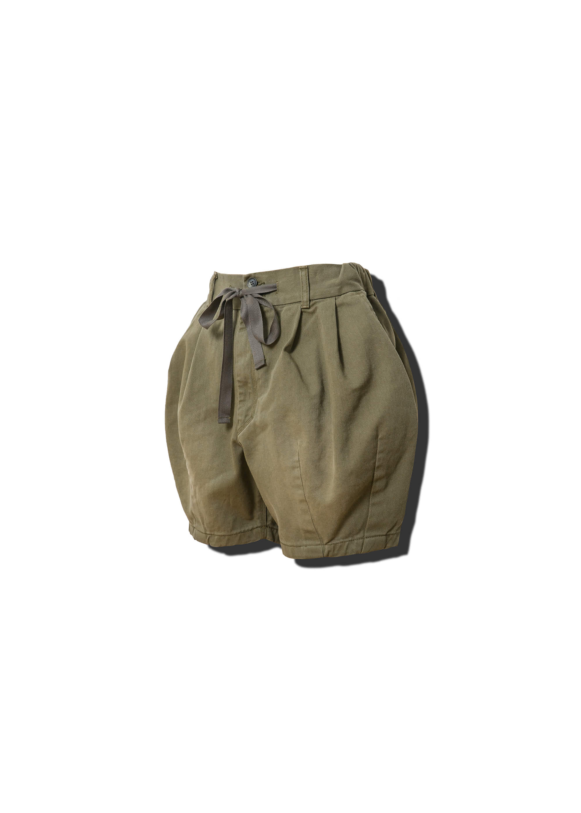 [AG] Cotton Easy Balloon Shorts - Khaki