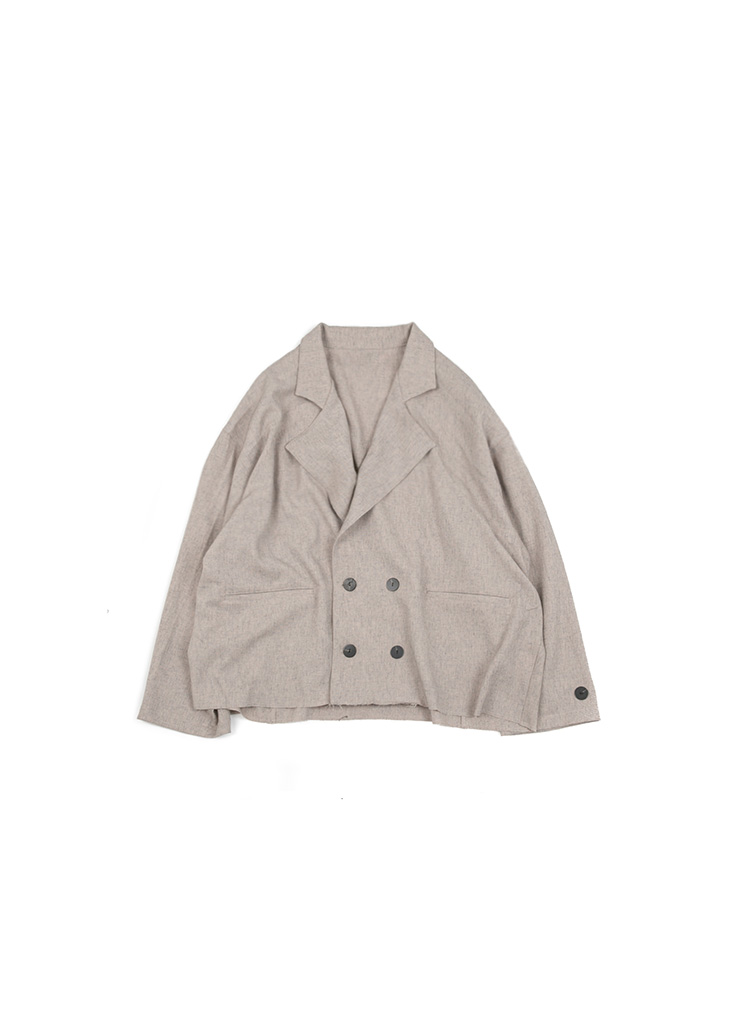 Cutting Double Jacket - Oatmeal