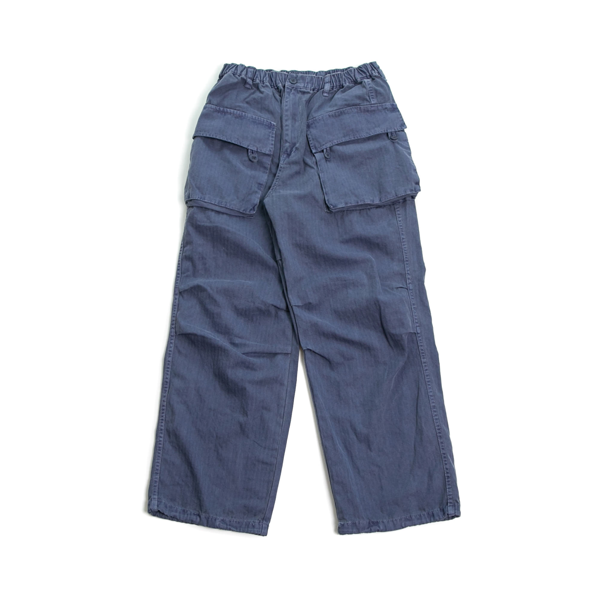 Pigment Army Cargo Pants - Blue